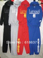 Brand Men's hoody+pants,Last kings hoody.last kings pants.Men's cotton hoody,Men's coats,brand fashion sweatshirts.Men's sets