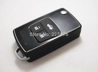 Remote Folding Key Flip Shell Case Keyless Fob For Toyota Camry Corolla RAV4 Prado Avalon 3 Buttons