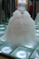 2012 noble temperament feather wedding feather wedding dresses bride wedding dress