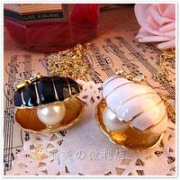Min.order is $10 (mix order) N076 Fashion Korea sea shell Pumpkin necklace Wholesale !Free shipping!