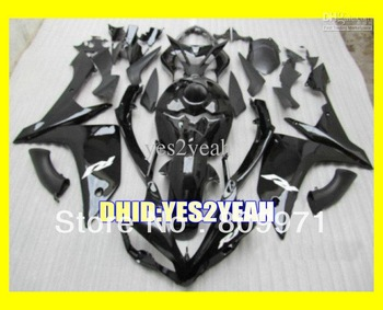 Classic dark black Fairing for YZF R1 07-08 YZF-R1 2007-2008 YZF R1 YZFR1 YZF1000 07 08 2007 2008