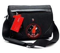 Swiss army knife male shoulder messenger man Handbags shoulder 13 a4 briefcase laptop bag