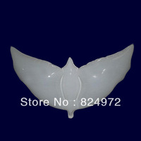 20pcs/lot life-like White eco-friendly biodegradable bio dove balloons bio dove shaped balloons for wedding decoration
