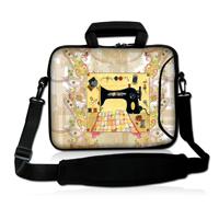 "Sewing Machine 17""  Laptop Shoulder Sleeve Bag Case+Handle For 16"" 17"" 17.3"" 17.4"" Laptop"