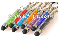 Free Shipping Crystal Type Stylus Touch Pen Screen for iPad Mini 2 3 iPhone 4 4S Samsung Galaxy S3 i9300
