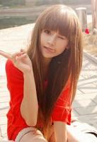 FREE P&P>>> Long straight hair qi bangs fluffy wig repair long straight hair wigs repair handsome schoolgirl