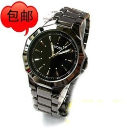Fashion table tungsten steel mens watch Men watch male watch vintage table(China (Mainland))