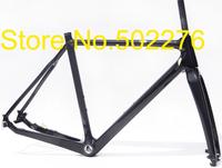 FR-602 Full Carbon 3k Matt  Disc brake Cyclocross Bike Frame (Full Internal cable)+ Fork + headset  - 51cm,  57cm