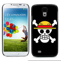 New Aluminum Metal Plate Hard Plastic Back Cover One Piece Case for Samsung Galaxy S4 i9500 case Retail Free Shipping (S4-57)