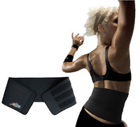 Sport safety breathable wicking slimming fitness abdomen neoprene lumbar back waist support belt protector