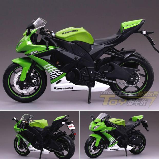 Maisto Kawasaki Kawasaki ninja series ZX-10R 1:12 models alloy motorcycle model Sports car model(China (Mainland))