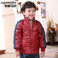 Scotch marco male child wadded jacket child winter all-match children's clothing