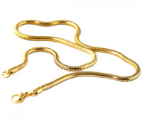 Male necklace titanium steel snake chain necklace male fashion accessories necklace birthday gift