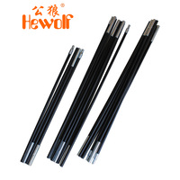 Hewolf 1130 tent glass fiber rod 1545  free shipping
