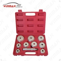 WINMAX 10 Pcs Auto Bearing Race And Seal Driver Set WT04012