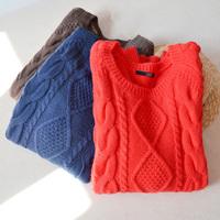 women's sweaters sweater knitting women dress warm pullover  knit sweater khaki  school cardigan