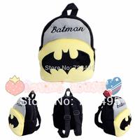 20143D Batman the children's cartoons fabric bags / plush small backpacks gift for kids / the knapsacks are children's shoulder