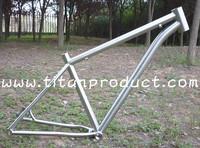 "Titanium Bike Frame 29"" 44mm Headtube/Breezer Dropouts/Curved Downtube"