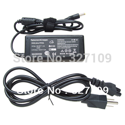 18.5V 4.9A 4.8X1.7mm Wholesale Lot Universal AC DC Power Supply Adapter Charger for HP Compaq Laptop with Power Cord Cable(China (Mainland))