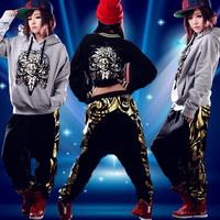 Casual pants cotton sports pants modern dance clothes dj dance trousers hiphop jeans clothes