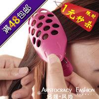 Bangs hair style maker tools purple word hairpin hair accessory