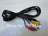 Hot 3.5mm Audio Jack Plug to 3 RCA Adapter Cable Cord Hot Sale Wholesale Free Shipping