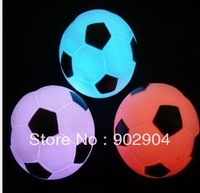 Wholesale - Colorful Football Small Night Lamp LED Football Night Light LED Toys free shipping 50pcs