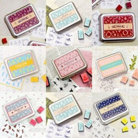 Free Shipping/New Set Stamp/Creative cute designs stamp/DIY stamp/Iron Box/multi-purpose Decorative DIY funny work/Wholesale