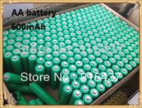 Free Shipping 10pcs/ lot AA New Original EXPORT Rechargeable NI-MH battery 1.2V 600mAh