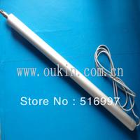 12v/24v 33mm diameter 500N 100mm stroke tubular linear actuator
