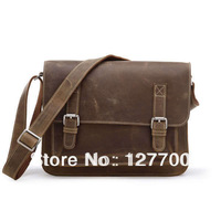China Wholesale Vintage Sling Bag Leather School Bag # 7089B-1