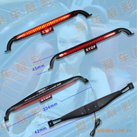 Modified car 28led red brake light band stop