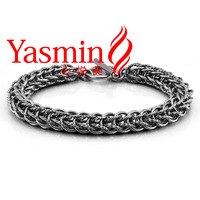 Free shipping Korean version of the retro Thai silver bracelet 925 sterling silver bracelet holiday gift Bloke
