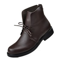 2013 Hot sale New style Fashion men's genuine leather business boots  009-148-009