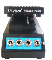 Daphon Guitar Stereo Volume Pedal DJ Guitar Effect Pedal 1511A Stereo In + Out     freeshipping