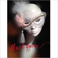 2013 new fashion handmade mask dance party masks Venetian white feather  mask