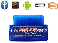 2013 A+++ quality V1.5 Super mini elm 327 Bluetooth OBDii / OBD2 Wireless Mini elm327