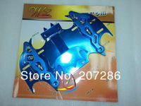 Free shipping 1pc/lot MOTORCYCLE Cool Bat Shape Modified License Plate Frame for Motorcycle 130525 blue