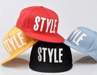 2013 new arrival kpop hiphop cap print hip-hop cap summer hat style cap baseball snapback hat b-boy adjustable cap bboy k-pop