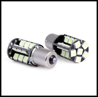 Super Bright!! 2 pcs/lot 1156 BA15S 27SMD 5050 canbus No error LED Turn/Backup Light Bulbs lamp lightsTurn Signal