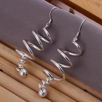 Wholesale Long Earrings for Women Fashion Jewelry Women Earings Brand Earrings High Quality 925 Silver Earring SPCE215