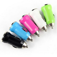 Colourful USB Car Charger Adapter for iPhone 3G 3GS 4 4S 5 5G HTC Samsung Blackberry Nokia Motorola