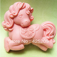 supernova sale new 2013 3D Silicone horse mold soap molds,  mould,molds,silicone molds silica gel mould,silicon wholesale