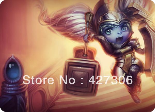 все цены на  Коврик для мыши lol 01 355 * 275 * 5  онлайн