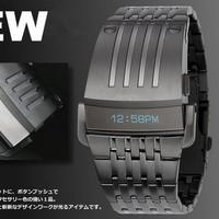 Free shipping, 2013 new fashion sports watch, LED digital watch Iron Man, Men's mechanical watch brands