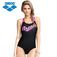 Arena 2013 trigonometric one piece swimwear women's 3860w swimwear