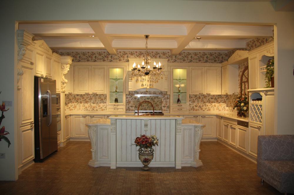 Keukeneilanden Te Koop : Roman Column Kitchen Cabinets