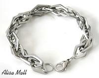 2014 fashion bracelets punk rock jewelry Titanium steel braclets and bangles  man charms