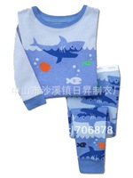 6sets/lot baby wear set 100% conton baby long sleeve pajamas boy's and girl's underwear clothing sets kids clear suits sets A066