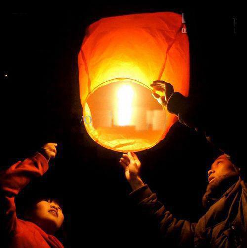2013 Chinese Kongming Paper lantern Sky Fly Lanterns Wishing Lantern fire balloon Birthday Lantern(China (Mainland))